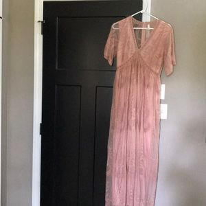 WORN ONCE. Pink blush dress